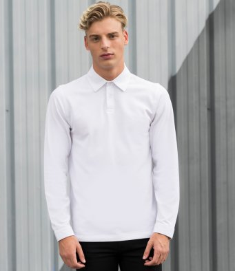 Cotton Polos - Long Sleeve