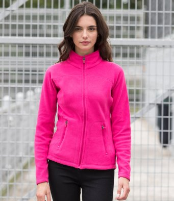 Full Zip Styles - Ladies Micro Fleece