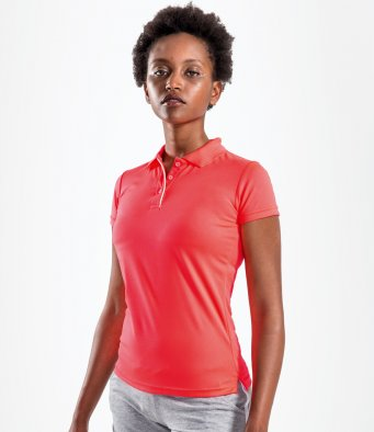 Ladies Performance Tops - Contrast Polos
