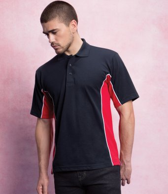 Poly/cotton Polos - Contrast