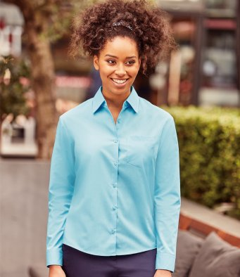 Work Shirts - Ladies Long Sleeve