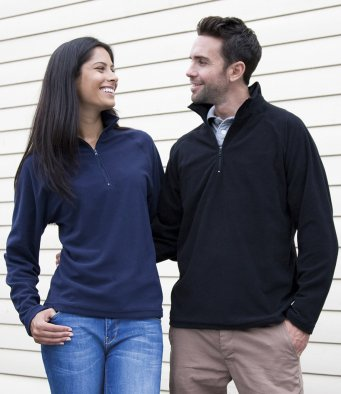 Zip Neck Styles - Micro Fleece
